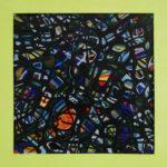 Mozaïek XII - inkt en pastel 44,5 x 44,5 cm